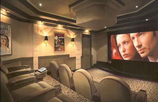 Home projection television